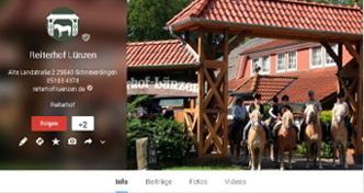 Reiterhof Lünzen Google+ Seite