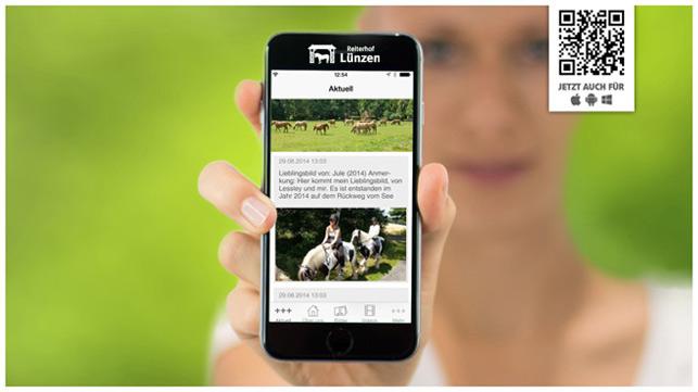Reiterferien App wurde schon 63 mal installiert